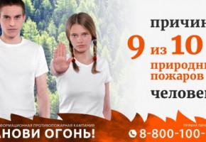 В Калужской области стартовала противопожарная кампания «Останови огонь!»