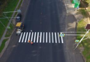 Дорожную разметку обновят на трассах в Калужской области