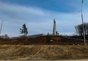 Благоустройство склона набережной Яченского водохранилища планируют завершить к 1 августа