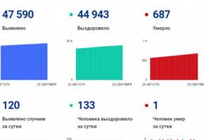 В Калужской области за сутки выявлено 120 случаев коронавируса