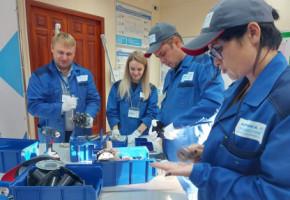 На калужской Фабрике процессов поставлен новый рекорд в рамках нацпроекта «Производительность труда»