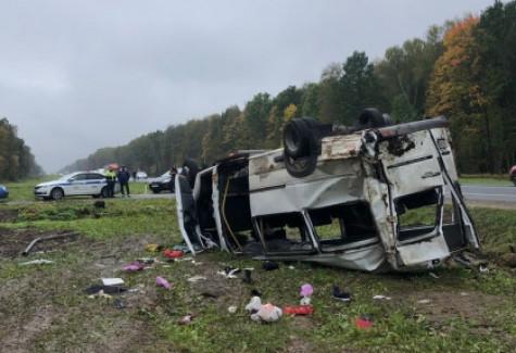 В обнинской больнице оказывают помощь пострадавшим в аварии в Жуковском районе